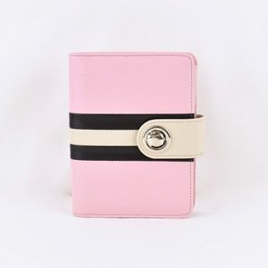 Franklin Covey Pink 6 Ring Compact Planner Binder